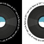 Life Spins @ 33 1/3 rpm | grafixfreak