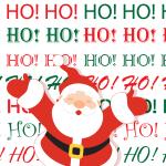 Santa Claus Ho Ho Ho | Grafix66 Designs | Zazzle