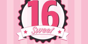 Sweet Sixteen | Grafix66Designs